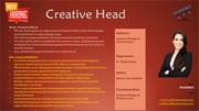 Immediate Hiring for a Creative Head